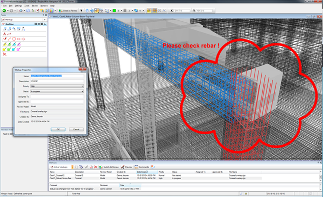 Flexible format allows you to review and share 3D model data easily.