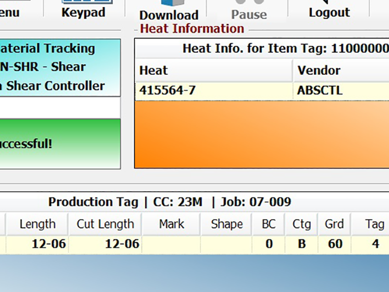 Automatic heat tracking