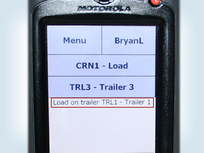 Real-time feedback on your scanner helps to prevent shipping errors.