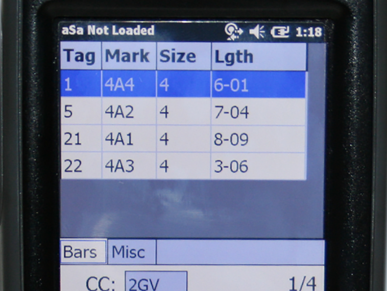 View items remaining to be loaded right from your mobile scanner.