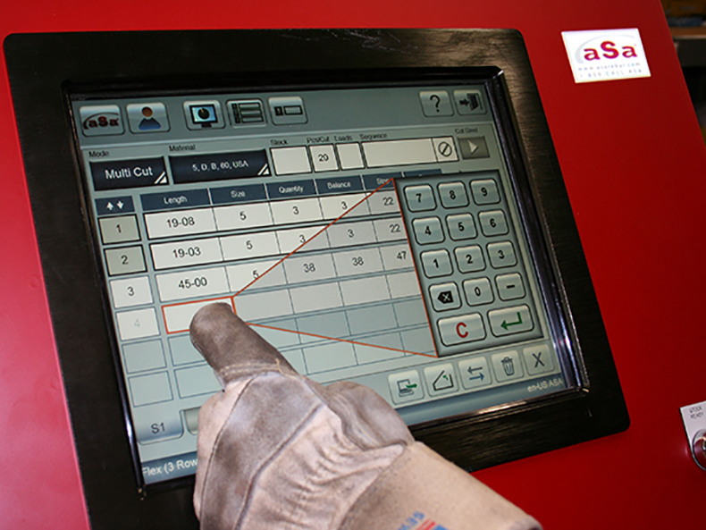 Safety features are built in, and all components are designed for the rigors of a rebar shop.